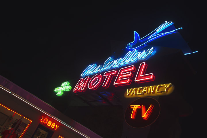Blue Swallow Motel 3 Tucumcari - New Mexico