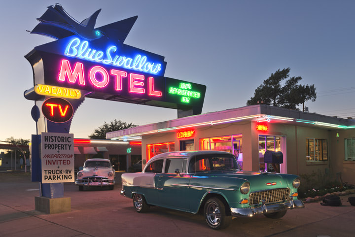 Photograph of Blue Swallow Motel 6