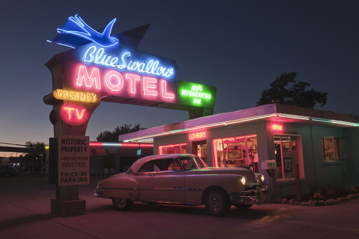 Photograph of Blue Swallow Motel - Route 66