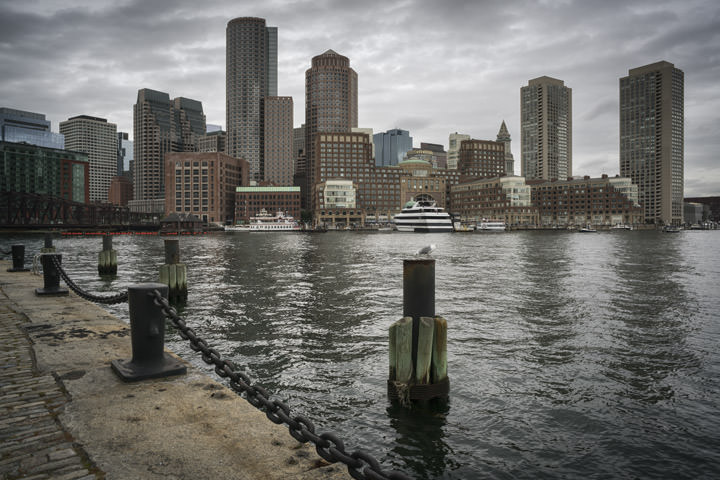 Photograph of Boston Skyline 2