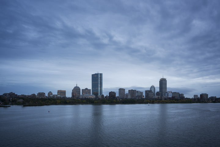 Photograph of Boston Skyline 3