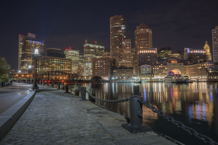 Photograph of Boston Skyline 4