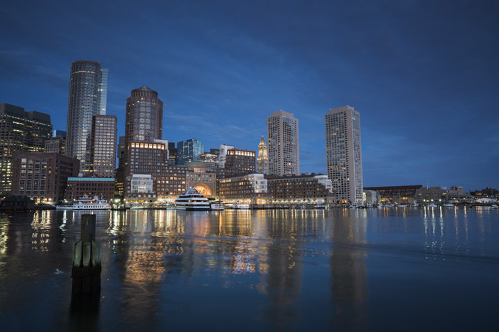 Photograph of Boston Skyline 5