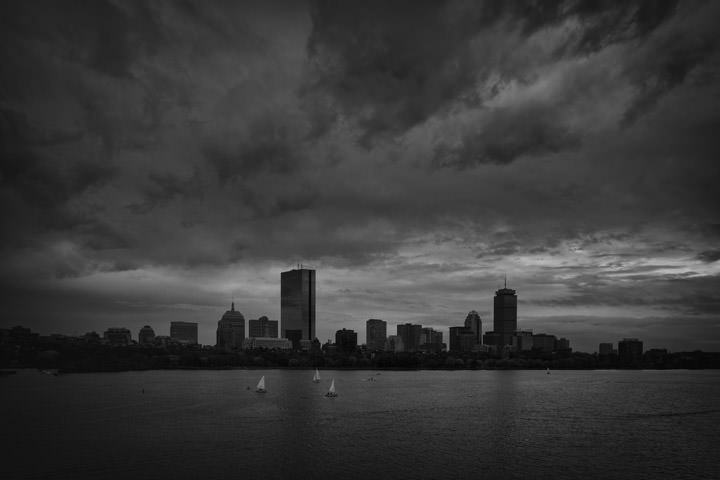 Photograph of Boston Skyline 6