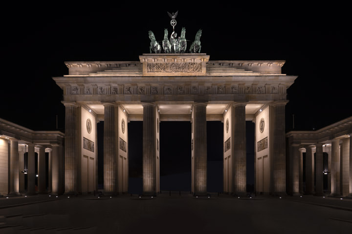 Photograph of Brandenburg Gate 2
