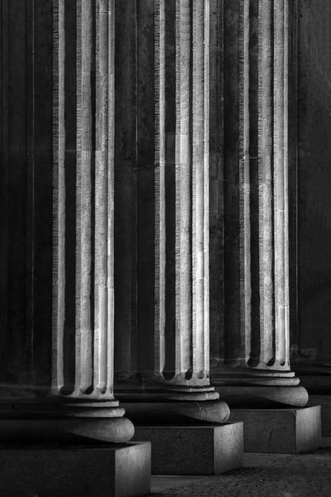 Photograph of Brandenburg Pillars 1