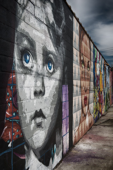 Photograph of Bronx Murals 1