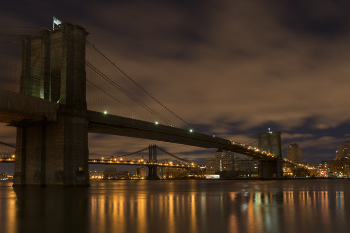 Photograph of Brooklyn Bridge 1