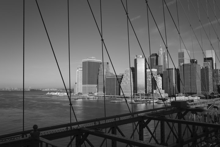 Photograph of Brooklyn Bridge 10