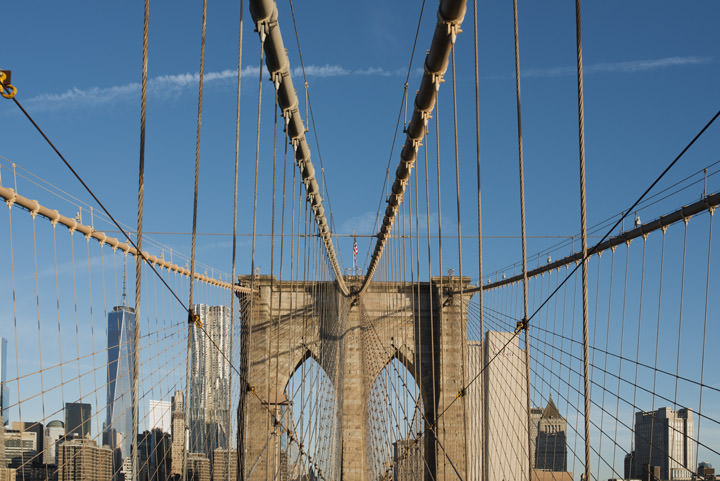 Photograph of Brooklyn Bridge 11
