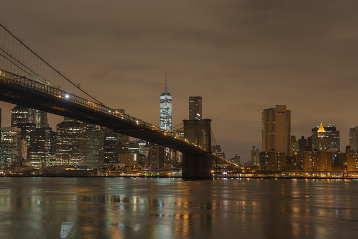 Photograph of Brooklyn Bridge 12