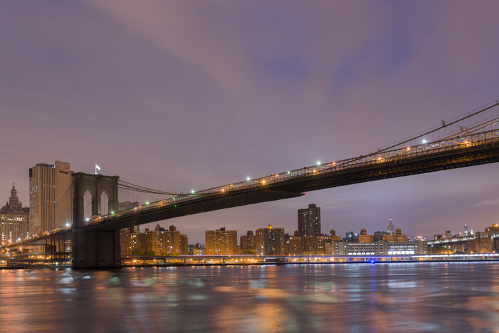 Photograph of Brooklyn Bridge 14
