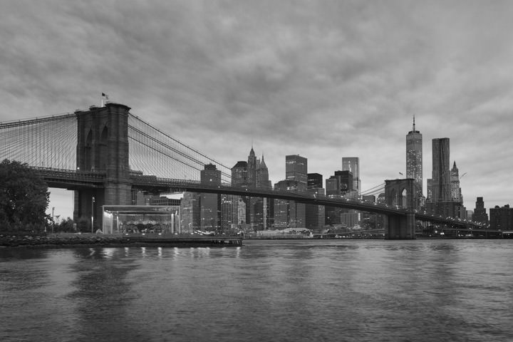 Photograph of Brooklyn Bridge 16
