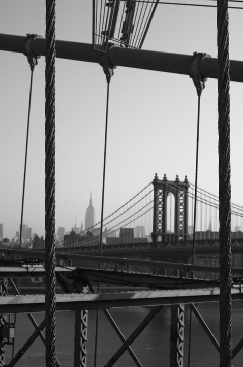 Photograph of Brooklyn Bridge 19
