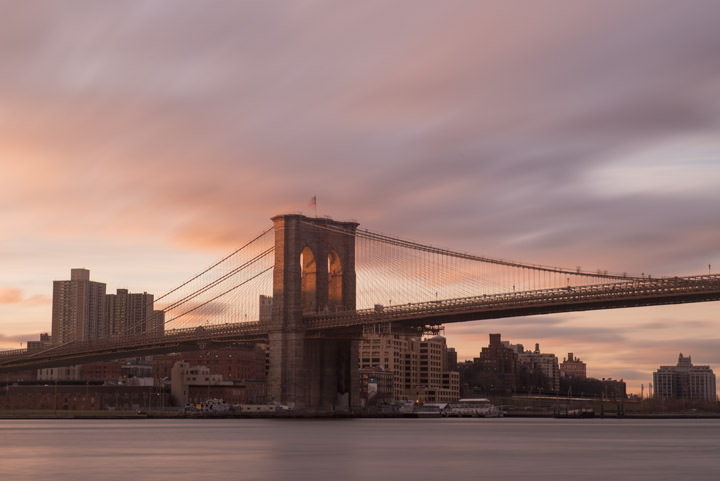 Photograph of Brooklyn Bridge 2