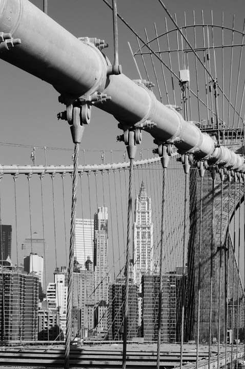 Photograph of Brooklyn Bridge 20