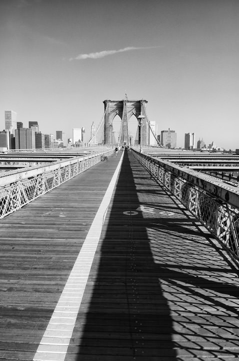 Photograph of Brooklyn Bridge 21