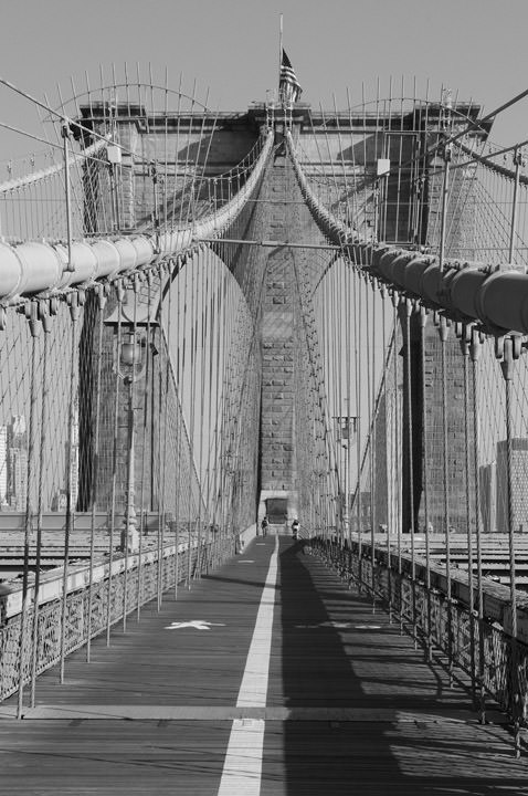 Photograph of Brooklyn Bridge 22
