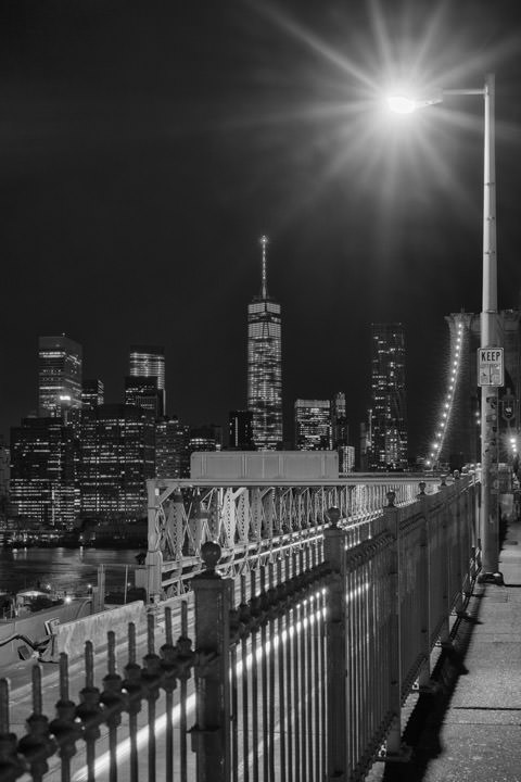 Photograph of Brooklyn Bridge 4