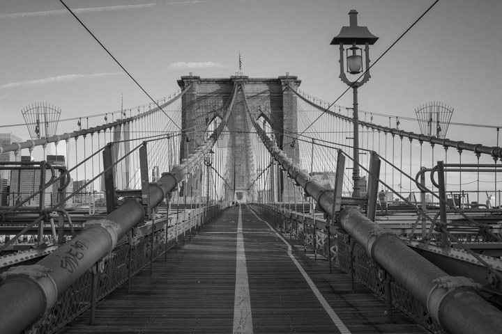 Photograph of Brooklyn Bridge 8