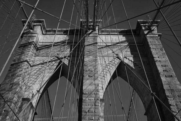 Photograph of Brooklyn Bridge 9