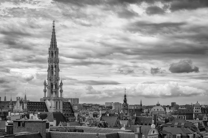 Photograph of Brussels Skyline 1