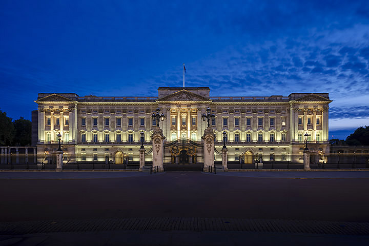 Photograph of Buckingham Palace Dusk 2