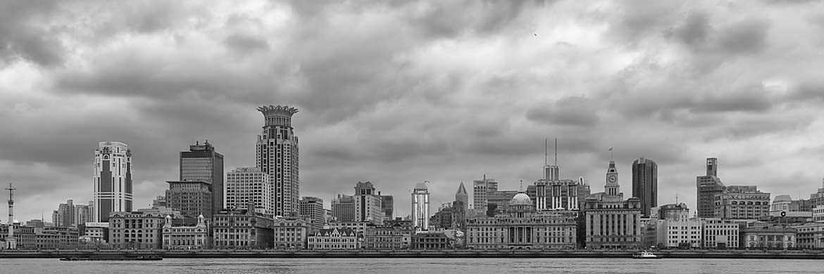Photograph of Bund Skyline