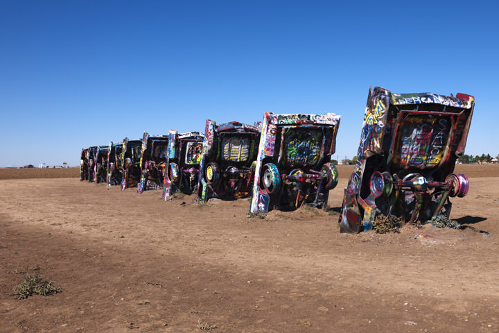 Photograph of Cadillac Ranch 3