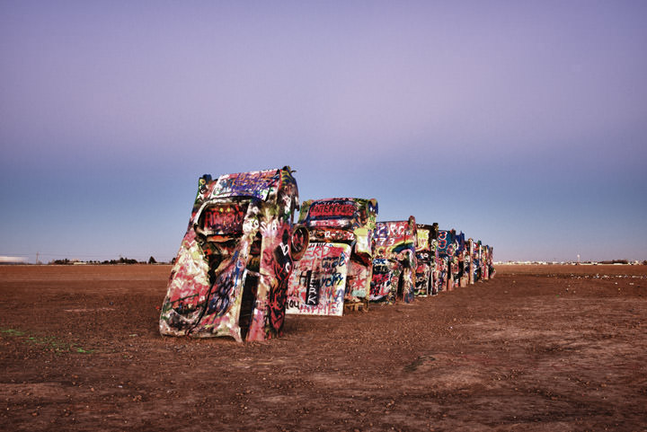 Photograph of Cadillac Ranch 4
