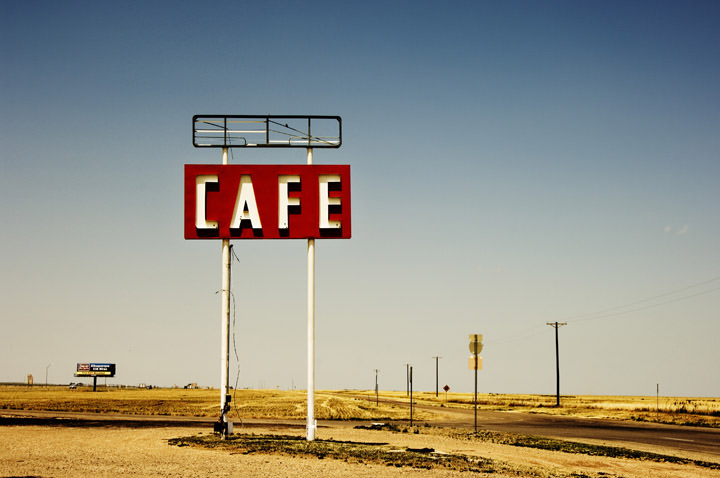 Cafe -  Route 66 Adrian - Texas
