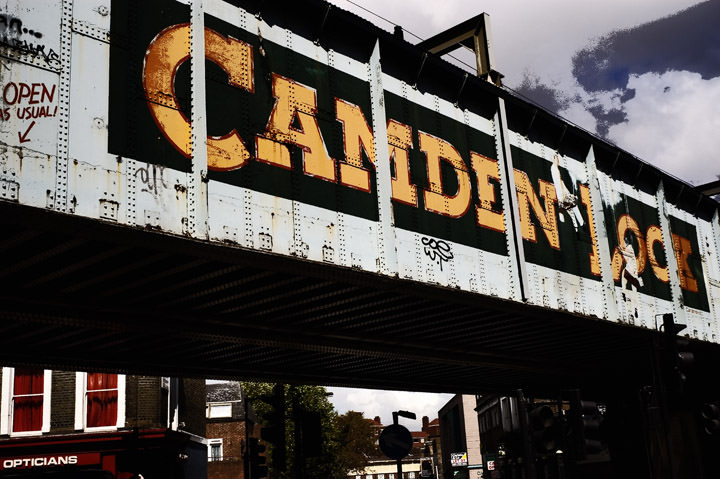 Photograph of Camden Lock