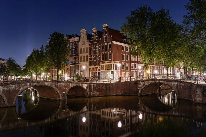 Photograph of Canal Houses 2 Amsterdam