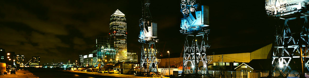 Photograph of Canary Wharf 2