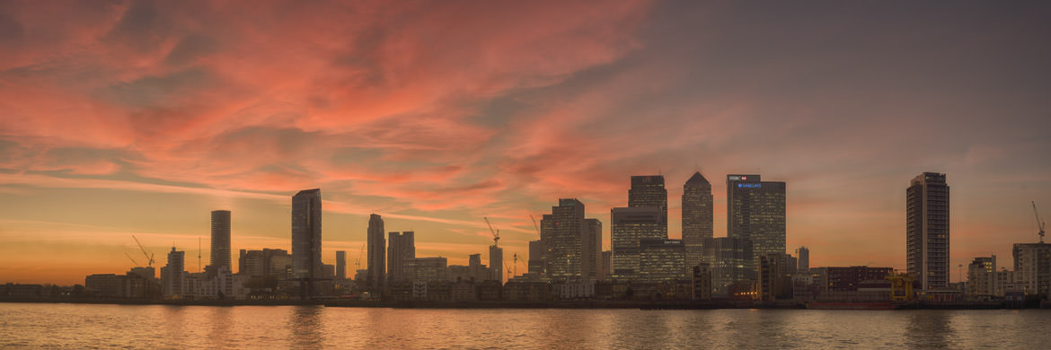 Photograph of Canary Wharf Cityscape 12