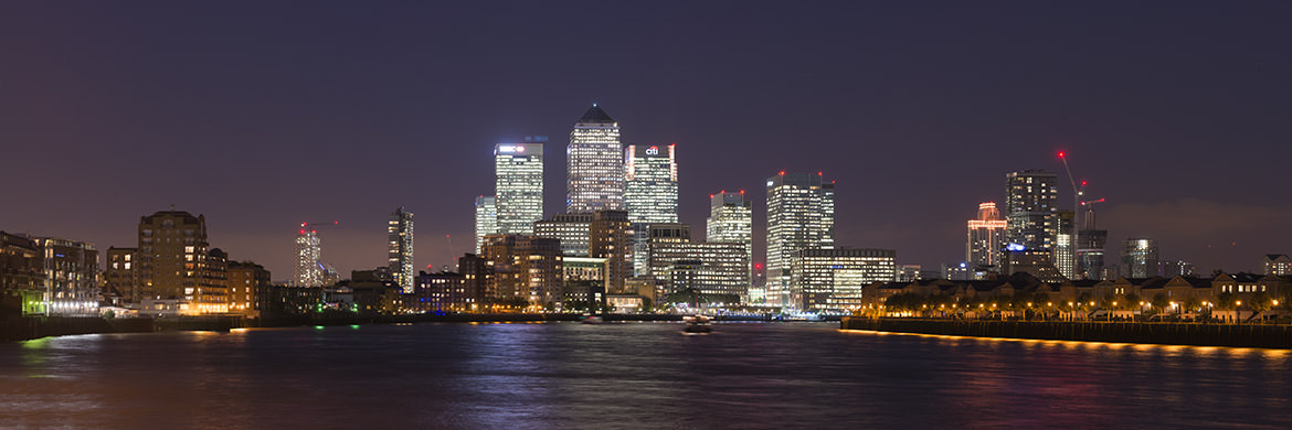 Photograph of Canary Wharf Cityscape 18