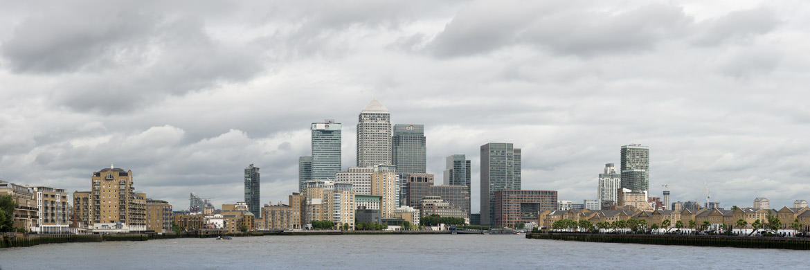 Photograph of Canary Wharf Cityscape 19