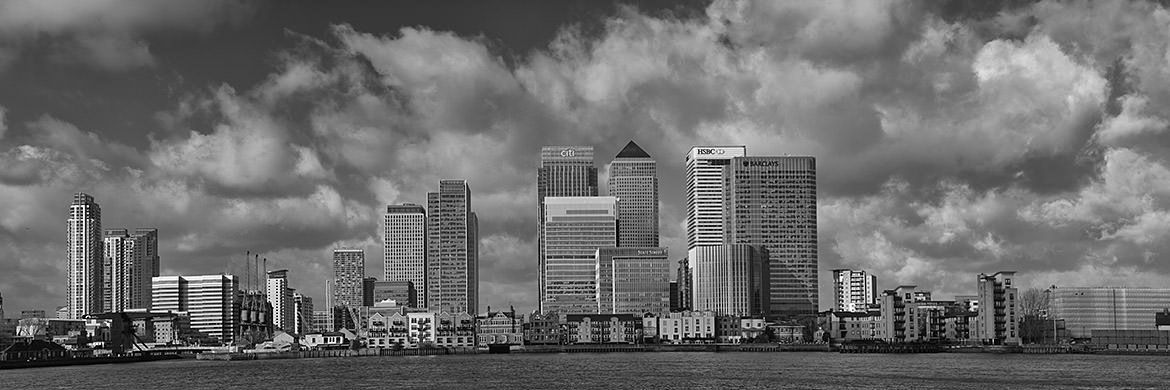 Photograph of Canary Wharf panorama 1