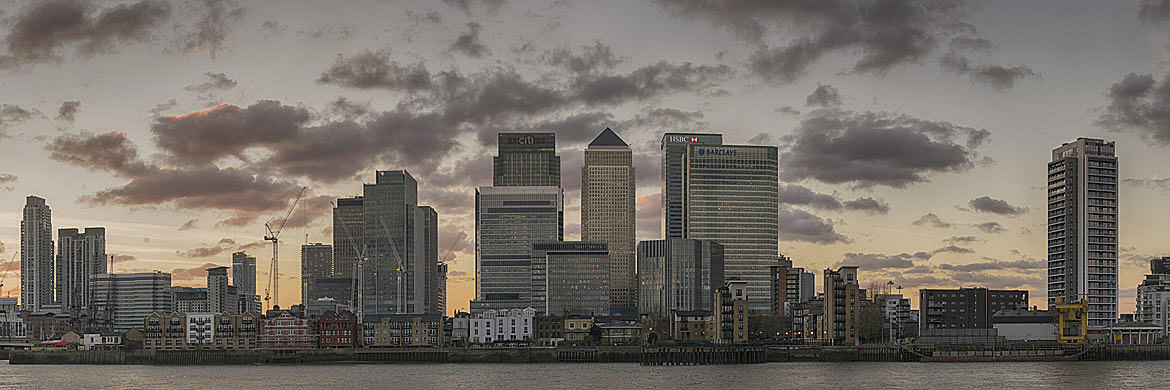 Photograph of Canary Wharf Panorama 2