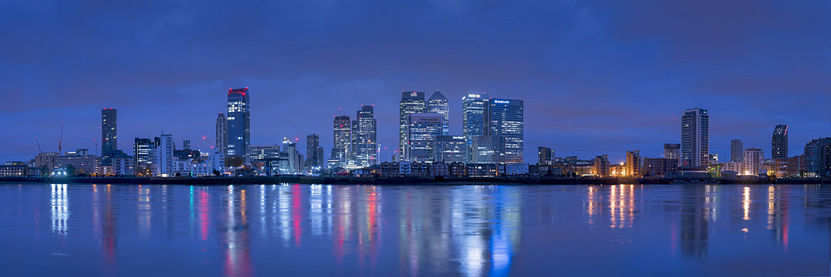 Photograph of Canary Wharf Panorama 4