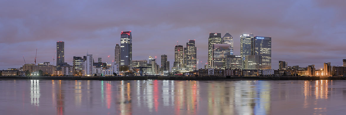 Photograph of Canary Wharf Panorama 5