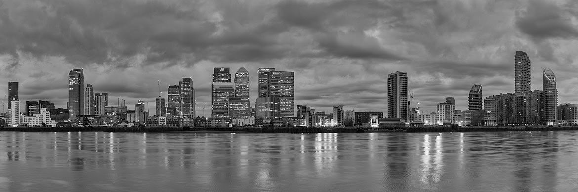 Photograph of Canary Wharf Panorama 7