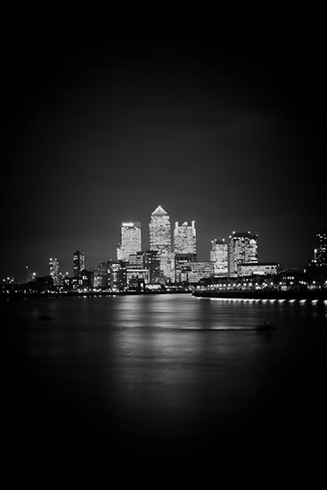 Photograph of Canary Wharf Skyline 11