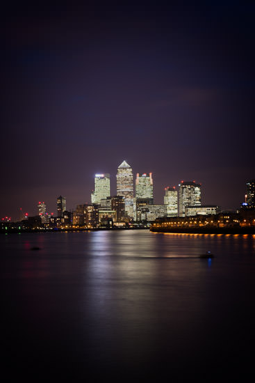 Photograph of Canary Wharf Skyline 6