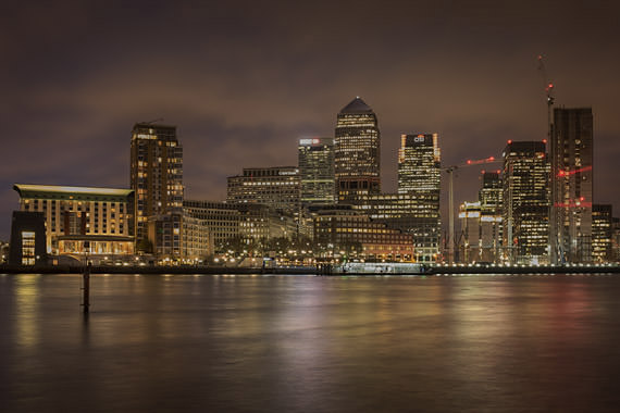 Photograph of Canary wharf 72