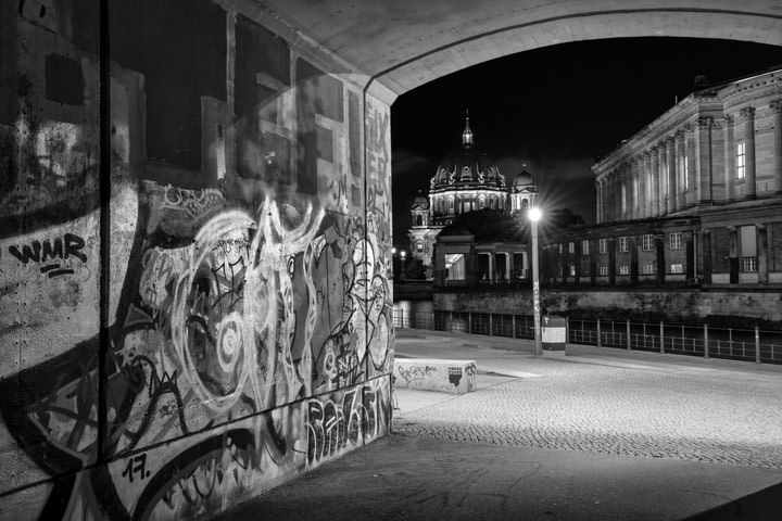 Cathedral Graffiti Berlin 1