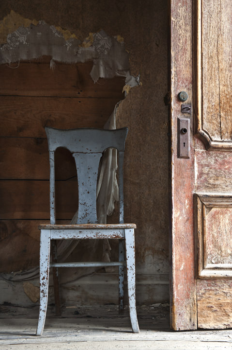 Photograph of Chair - Ghost Town