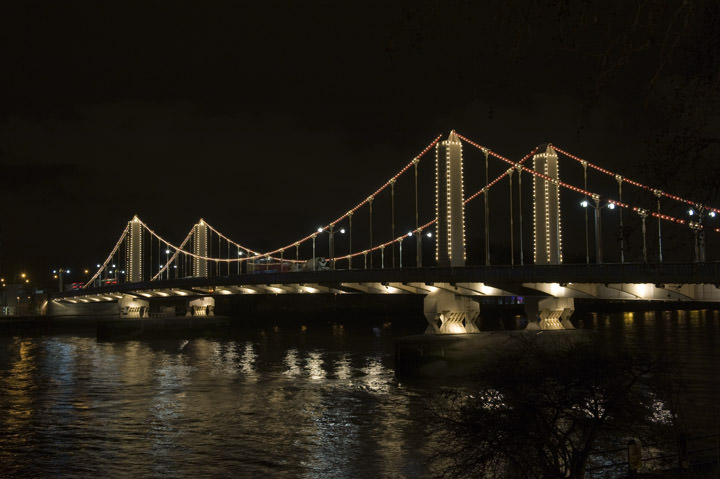 Photograph of Chelsea Bridge 2
