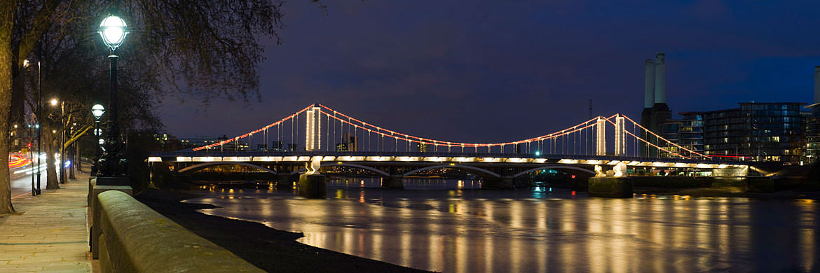 Photograph of Chelsea Bridge 6