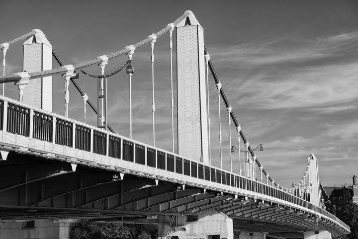 Photograph of Chelsea Bridge 8